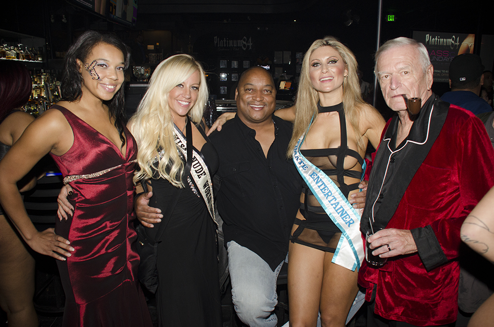 Girls And LA Hugh Hefner