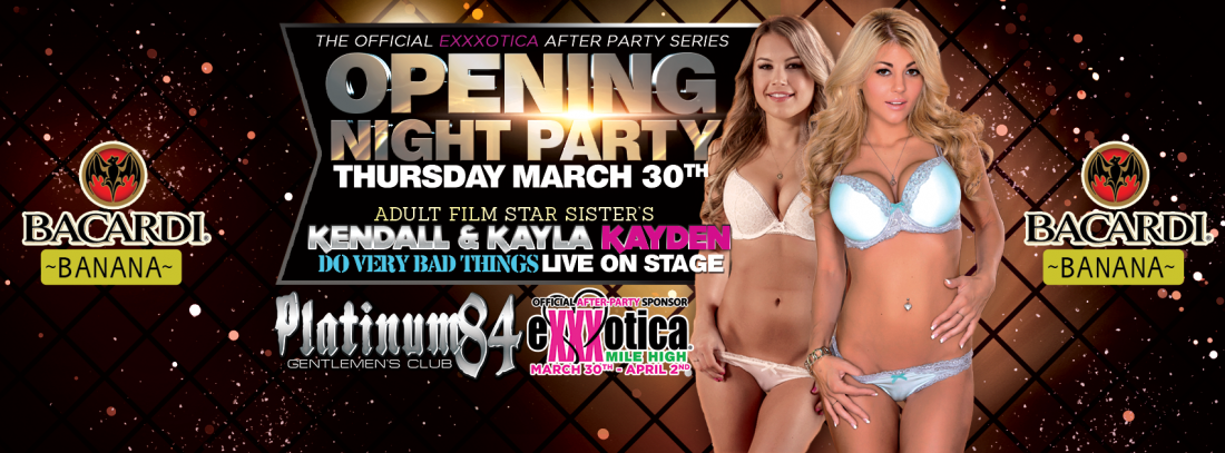 Opening Night - Kendall and Kayla Kayden