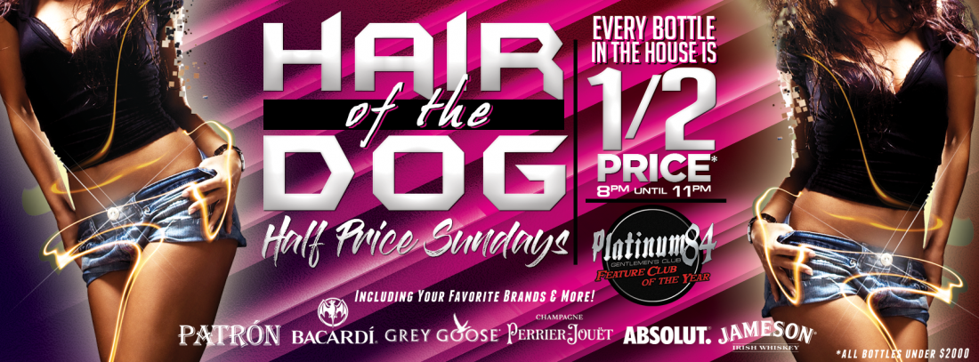 Hair of the Dog Half Priced Sundays